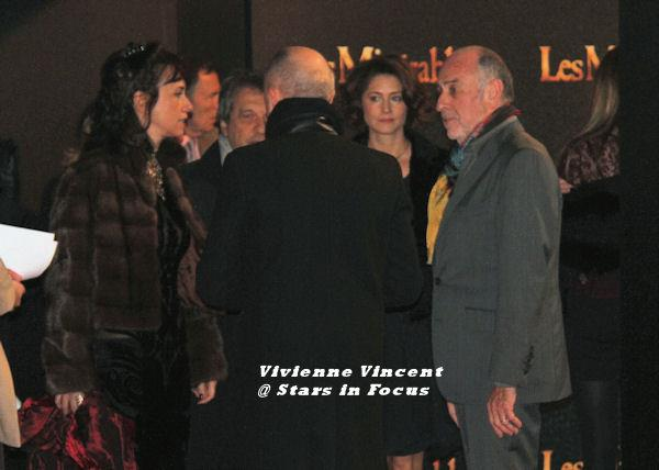 Claude-Michel, Alain and their wives
